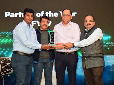 "Unique Solutions awarded with the ""Partner of the Year FY2019 for HPE Datacenter Care"""
