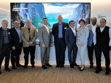 Unique Solutions Participation with HPE leadership team at San Jose